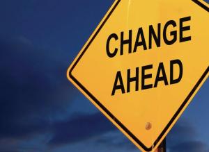 Decluttering = Change